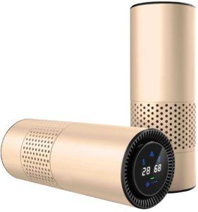 HEPA-Filter Luftreiniger für Allergiker, entfernen Rauchen Staub Pollen und schlechte Gerüche PLATZ 3