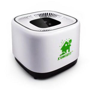 Luftreiniger SUMGOTT Air Purifier mit HEPA-Filter 3-Stufen-Filterung PLATZ 3