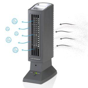 Tevigo Luftreiniger Luft-Ionisierer perfekt für Allergiker, Raucher auch bei Hausstaubmilben-Allergie PLATZ 1